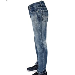 FlyPaper Bootcut Distressed Jeans